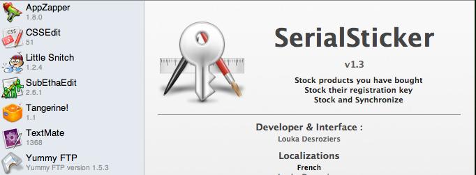 serialsticker