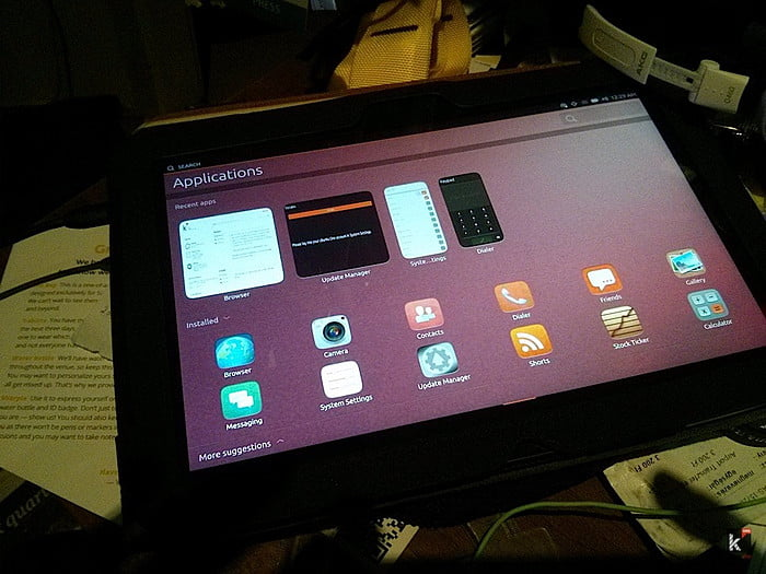 Ubuntu Touch on Nexus 10