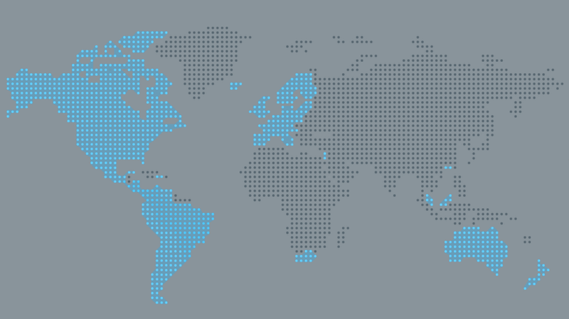 Rdio territory map