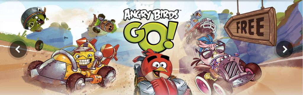 Rovio Angry Birds Go