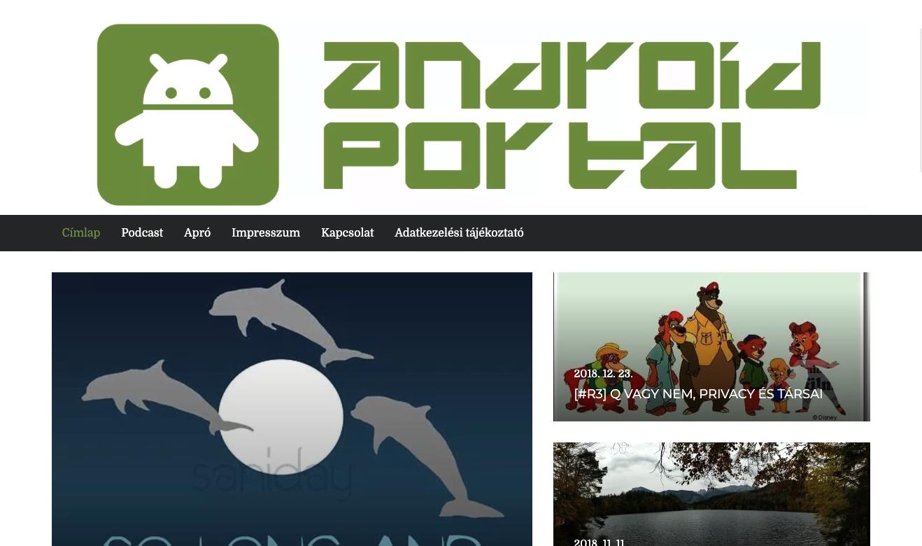 Androidportal bye androidportál - kobak pont org